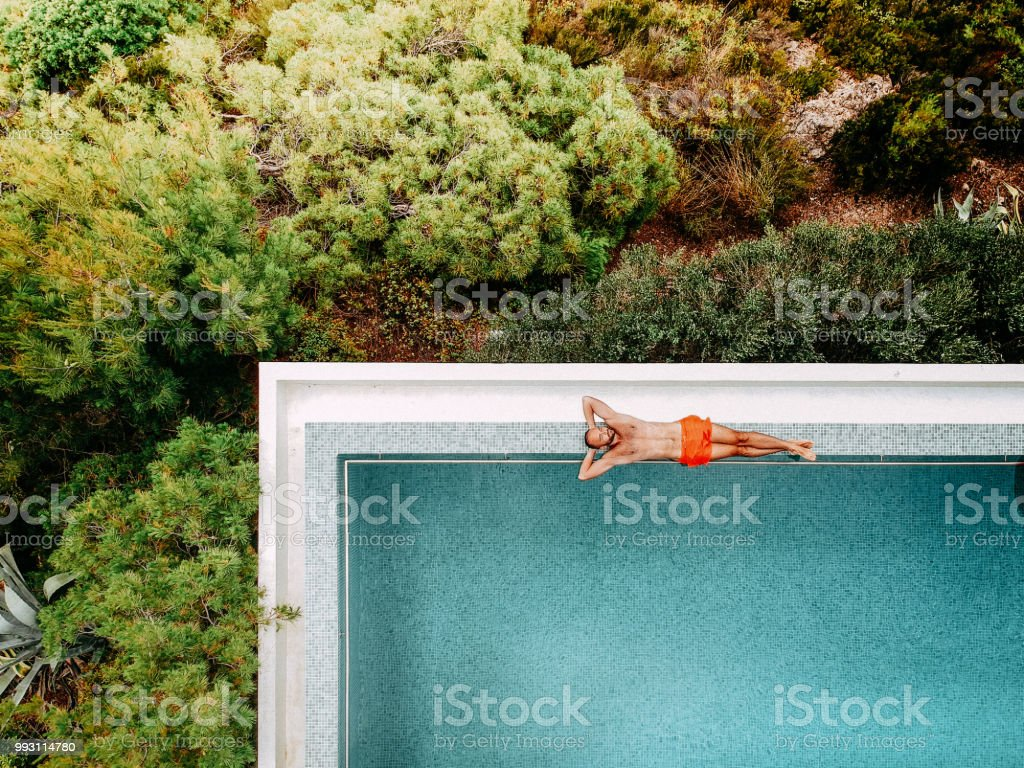 Vacation for one stock photo