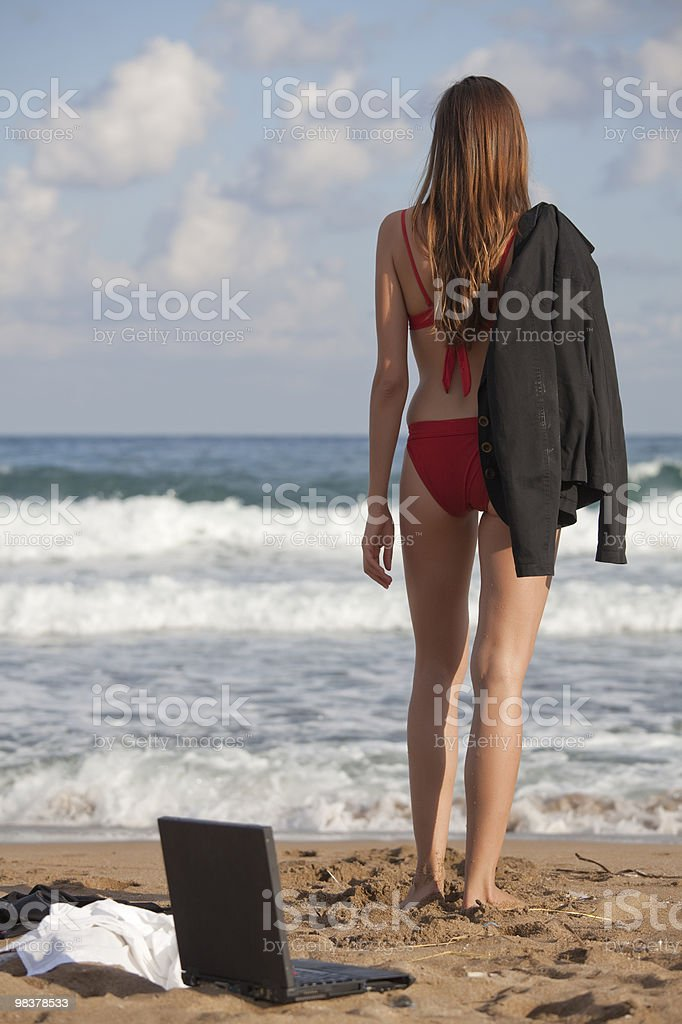 vacation from job royalty-free stock photo