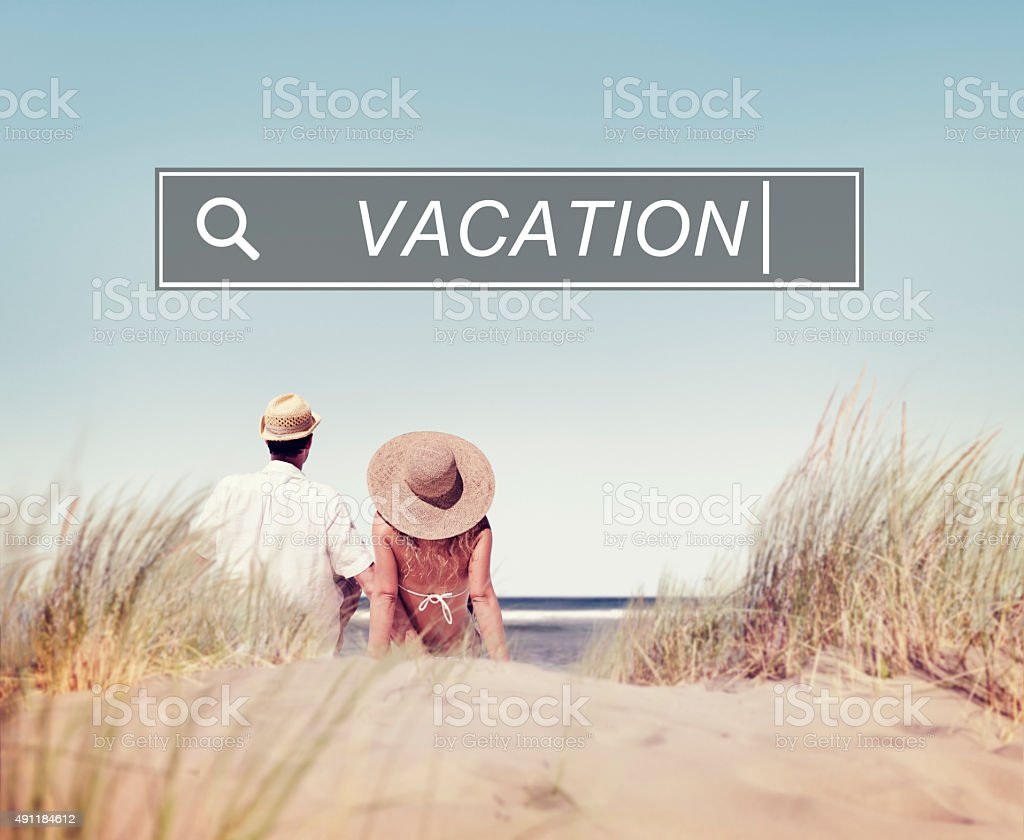 Vacation Holiday Leisure Travel Happiness Fun Concept stock photo