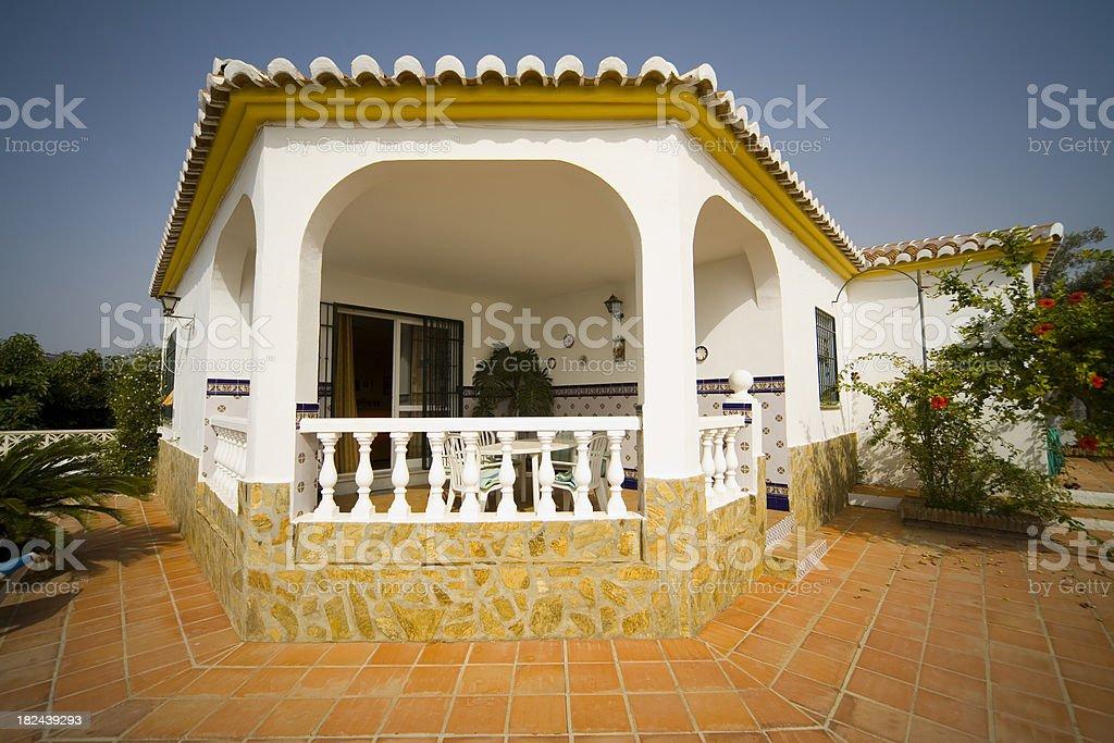 Vacation holiday villa royalty-free stock photo