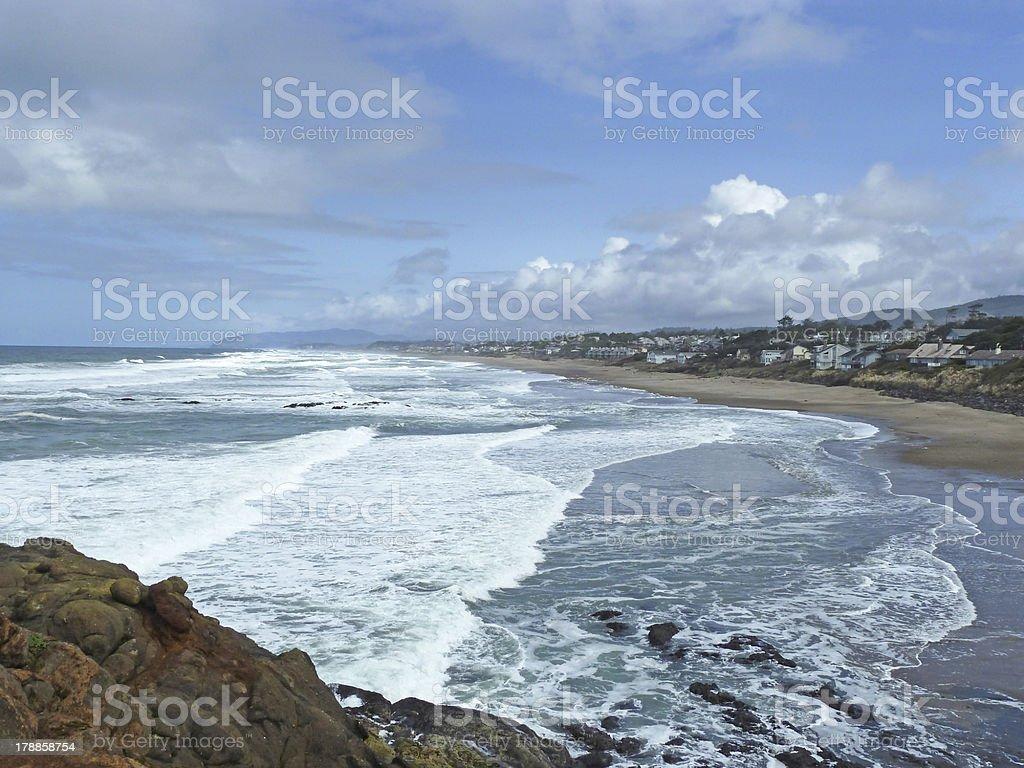 vacation homes stock photo