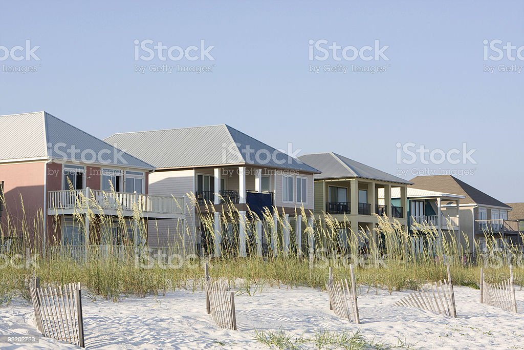 Vacation Homes stock photo