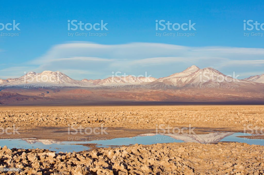vacation in chile stock photo