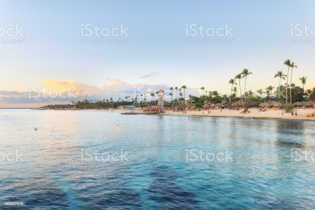 Vacaciones en República Dominicana - foto de stock