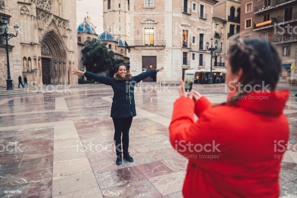 Vacation in Spain stock photo
