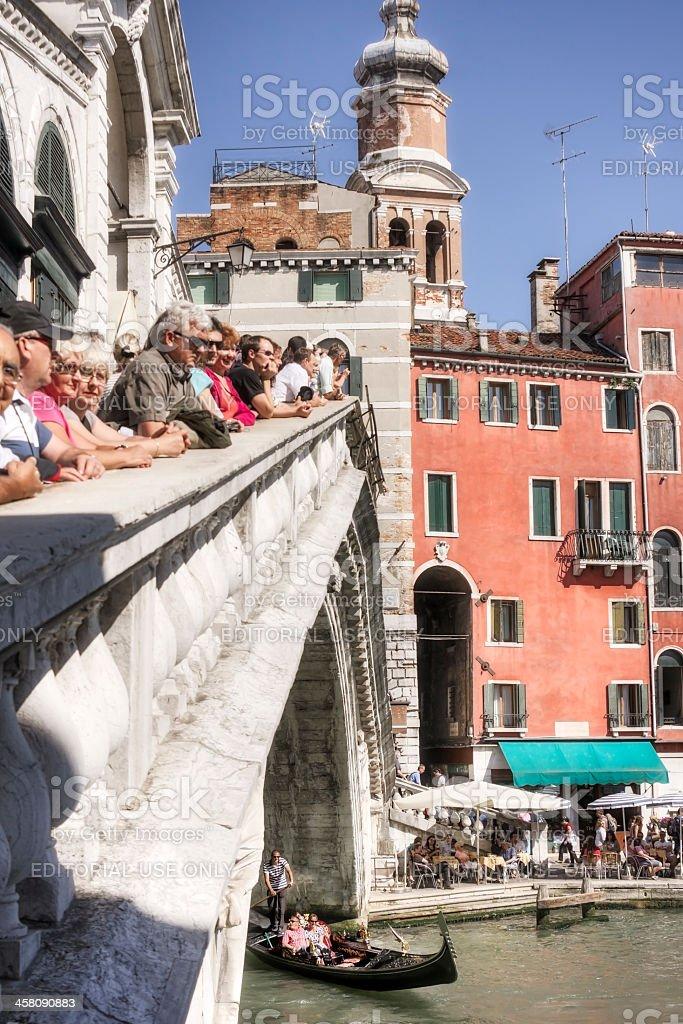 Vacation in Venice Italy royalty-free stock photo
