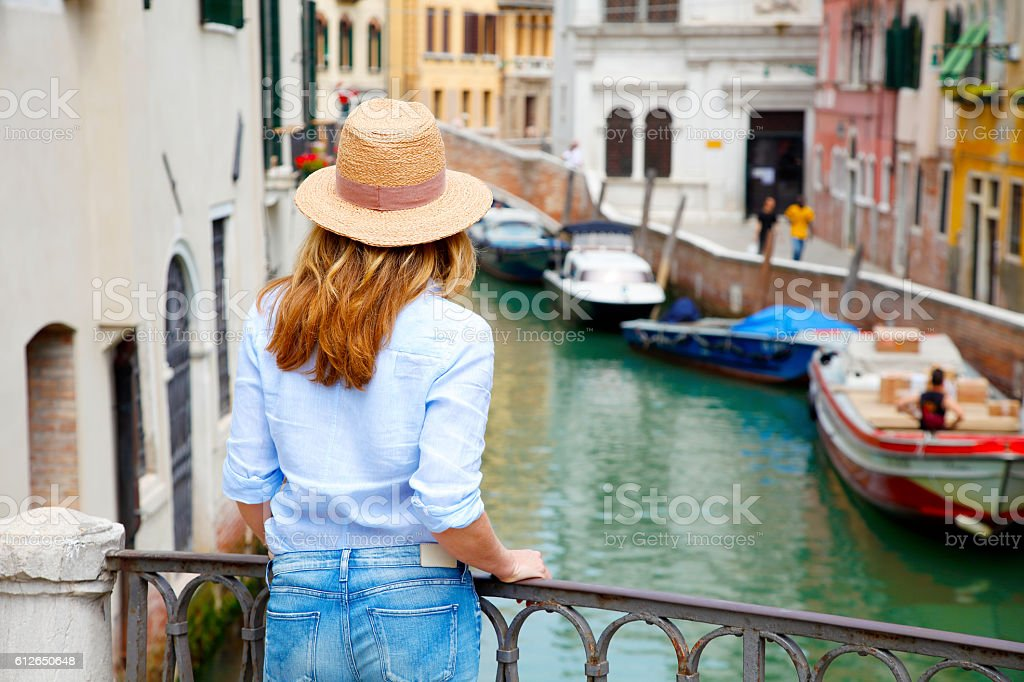 Vacation in Venice stock photo