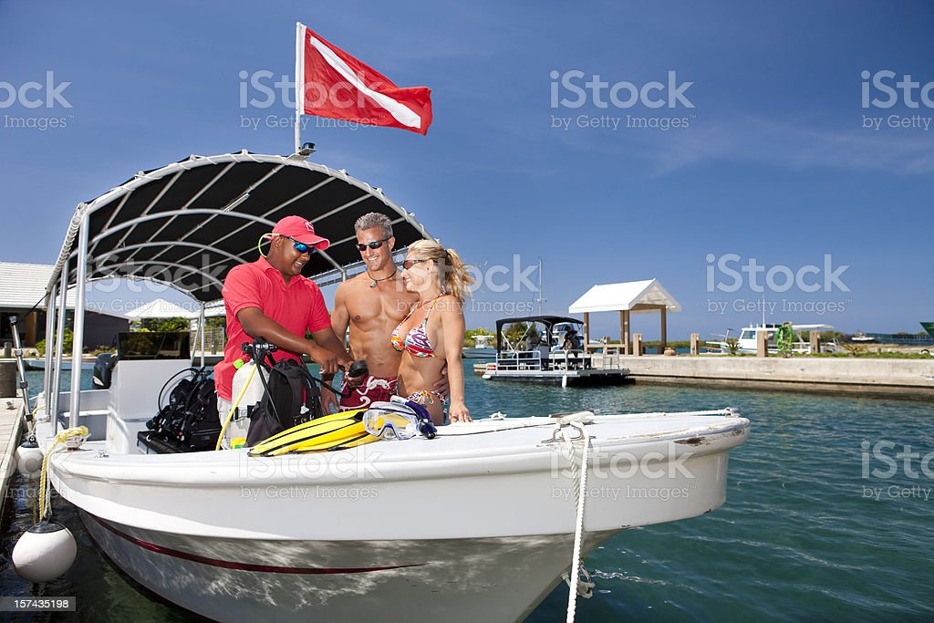 Vacation Lifestyles-Scuba Diving Instruction royalty-free stock photo