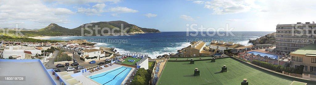 vacation on island royalty-free stock photo
