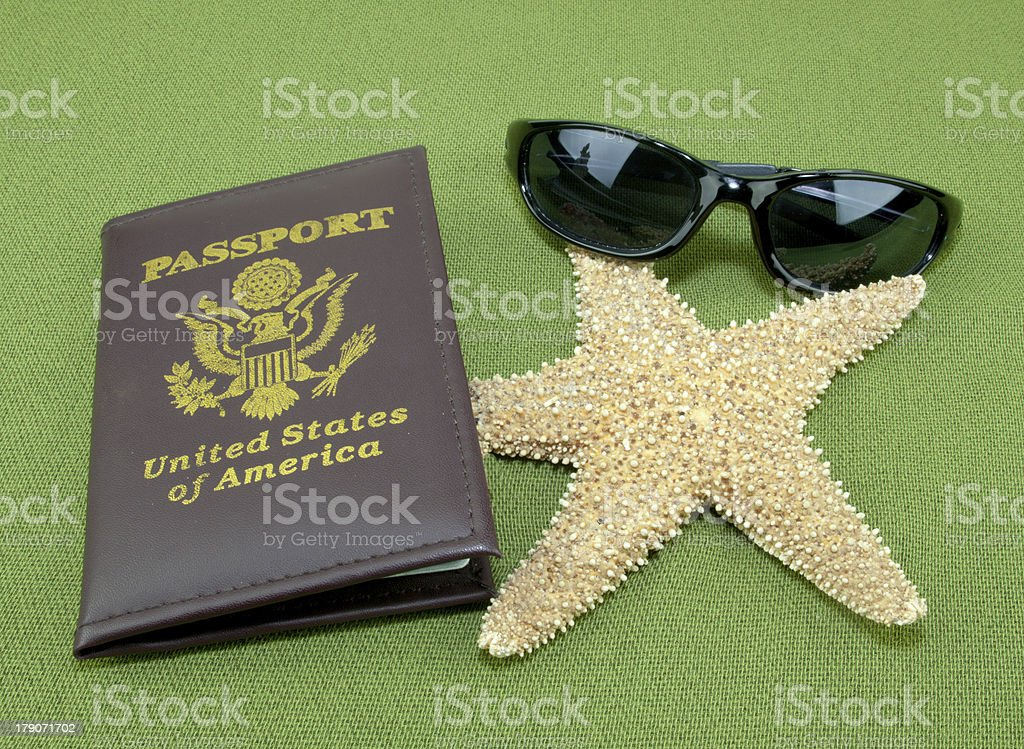 Vacation Passport royalty-free stock photo