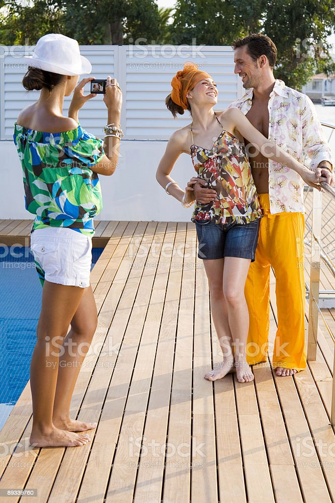 Vacation picture royalty-free stock photo