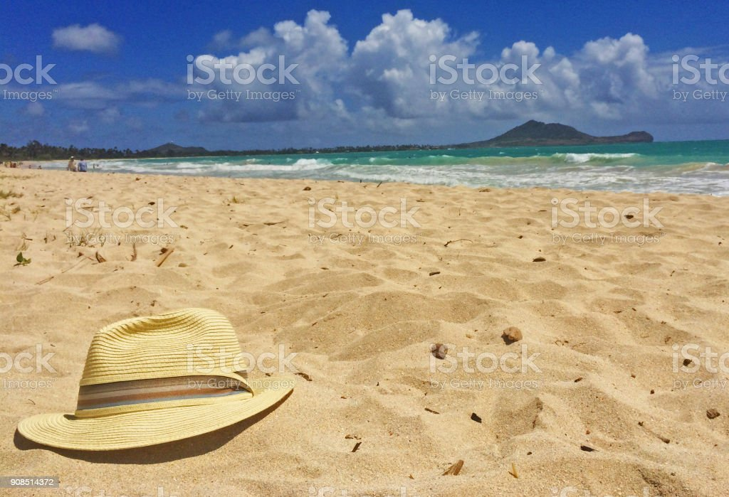 Vacation Plan Day tropical beach adventure landscape Hawaiian Islands stock photo