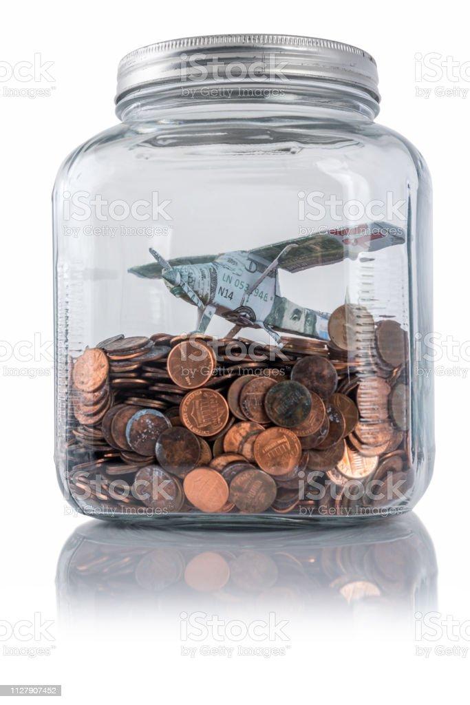 Vacation savings stock photo