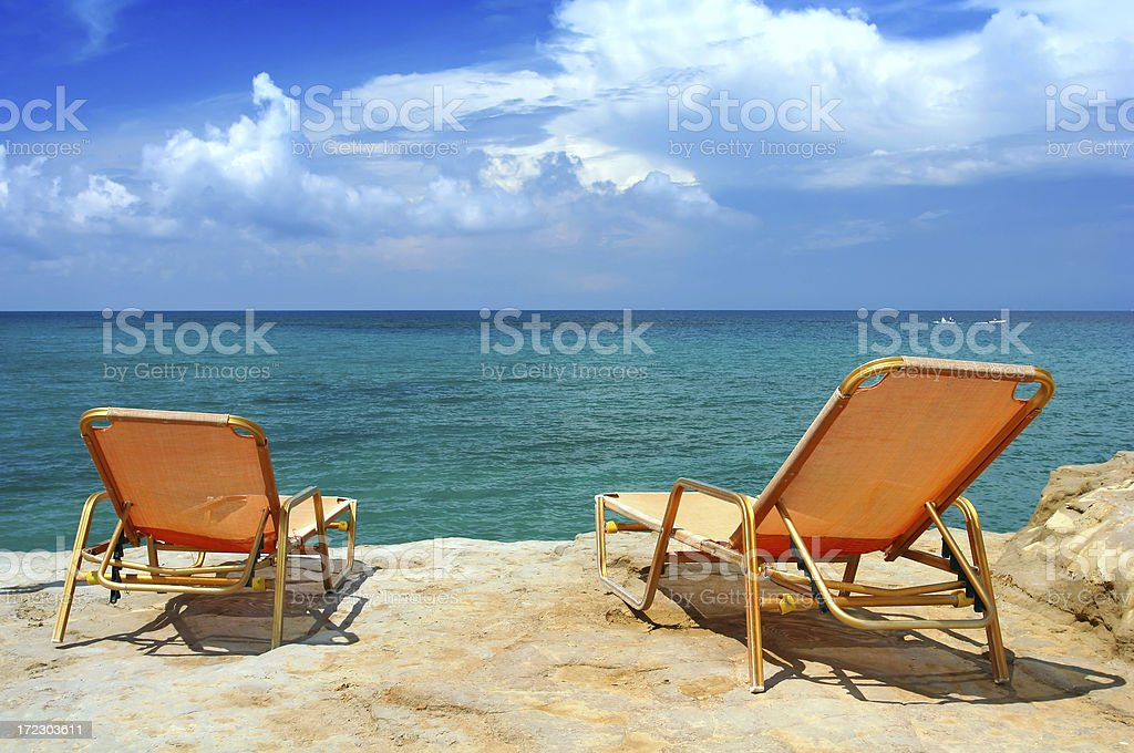 Vacation time stock photo