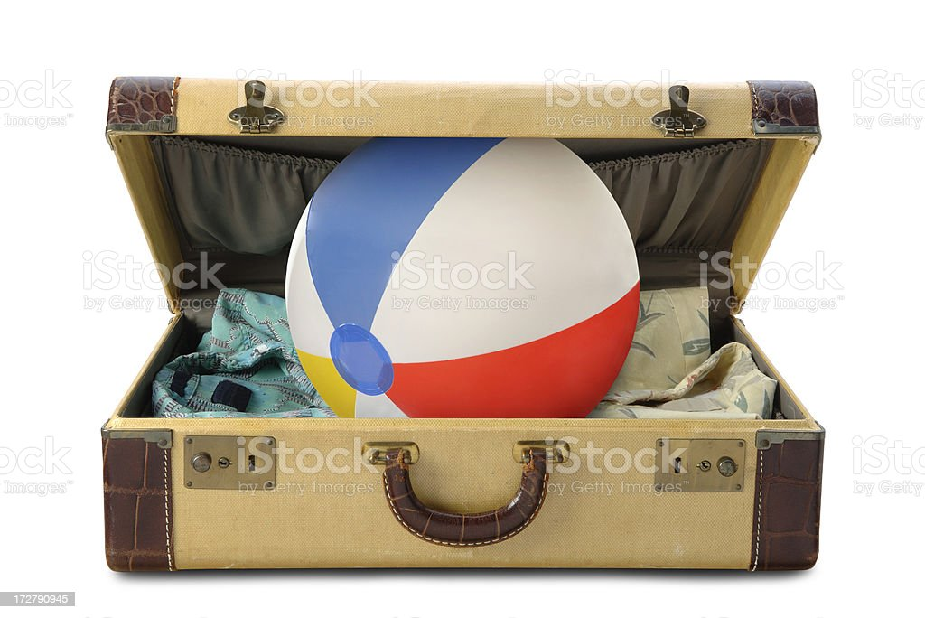 Vacation Time with Path royalty-free stock photo