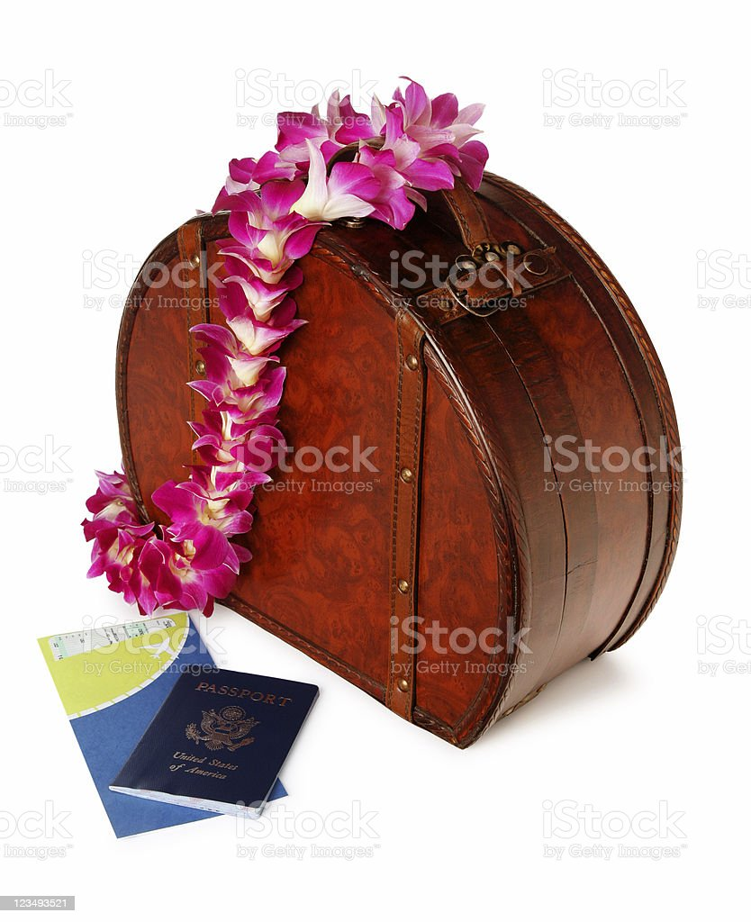 vacation to a tropical island royalty-free stock photo