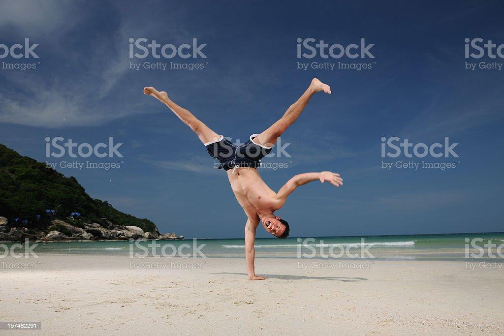 Vacation Vitality - Capoeira (XXXL) royalty-free stock photo