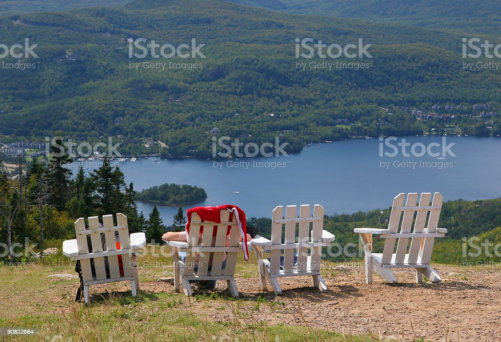 Vacation with a View stock photo