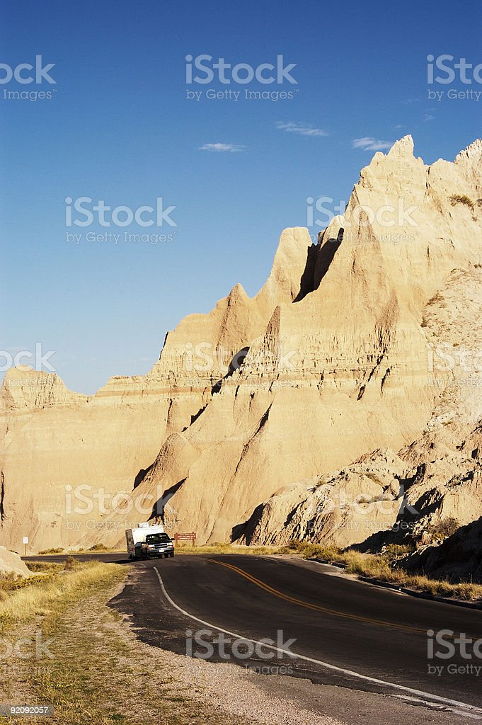 Vacationing in an RV 2 royalty-free stock photo