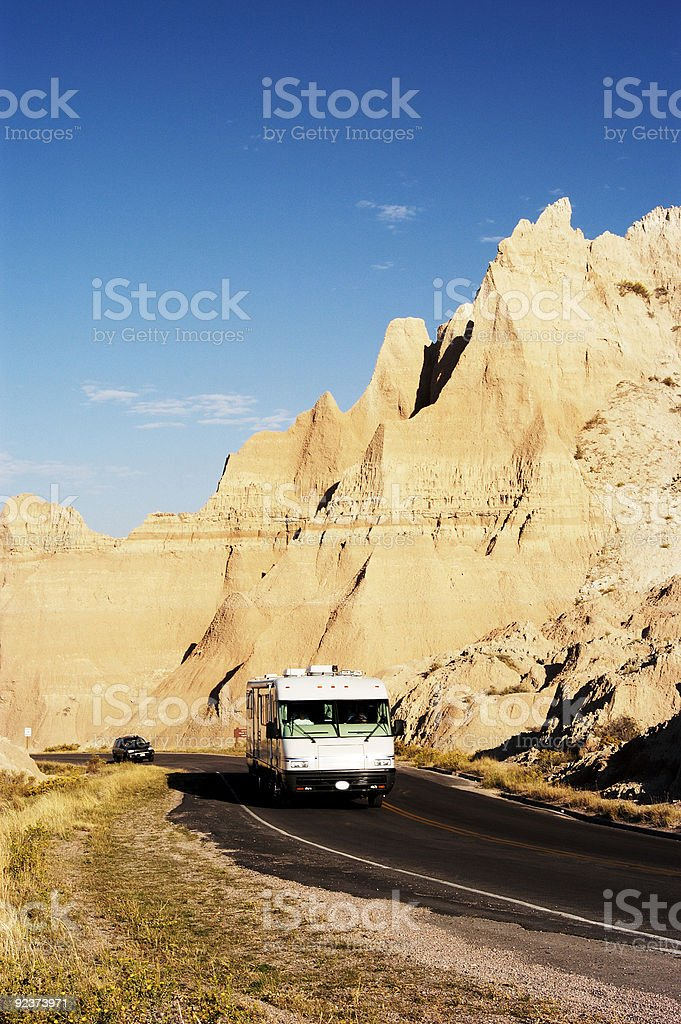 Vacationing in an RV 4 royalty-free stock photo