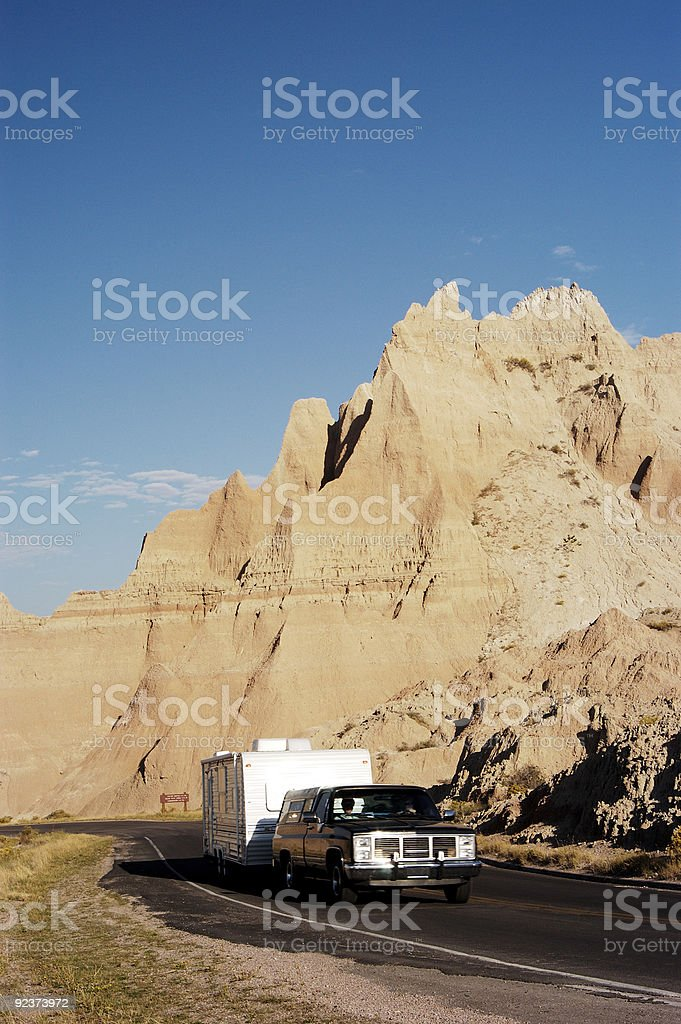 Vacationing in an RV 5 royalty-free stock photo
