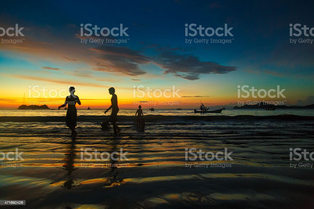 Vacations in Costa Rica stock photo