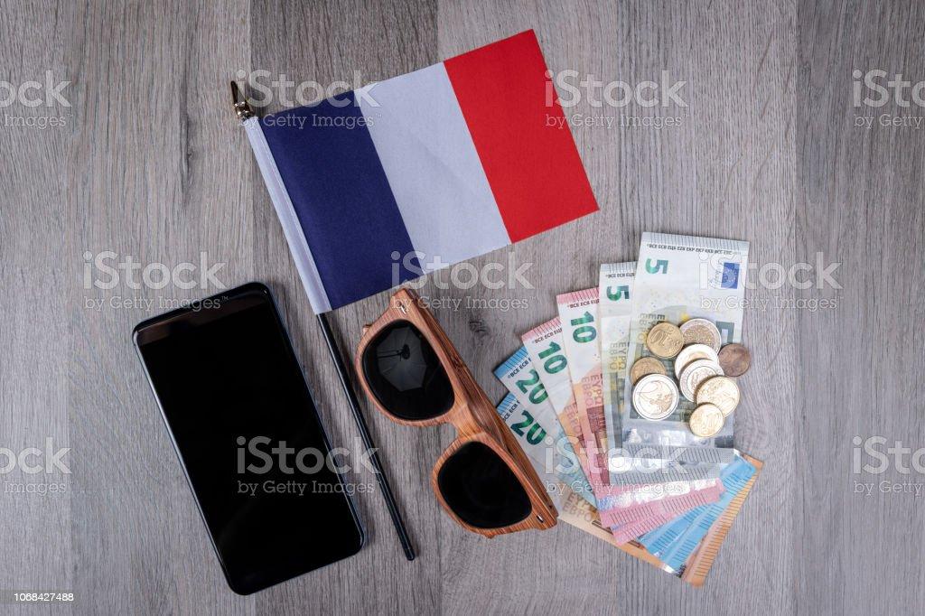 Y Smartphone Foto Euros Sol Gafas Vacaciones Con Francia En De 76gfviyby bg6yvfmIY7