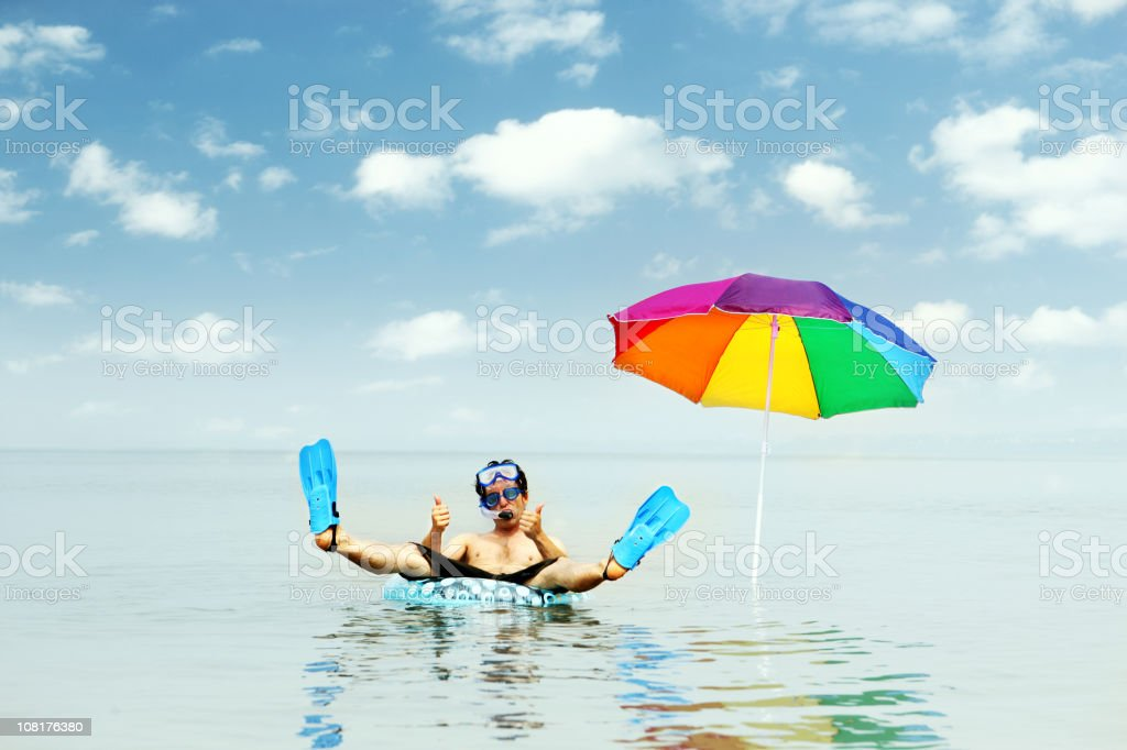 Vacations Rock royalty-free stock photo