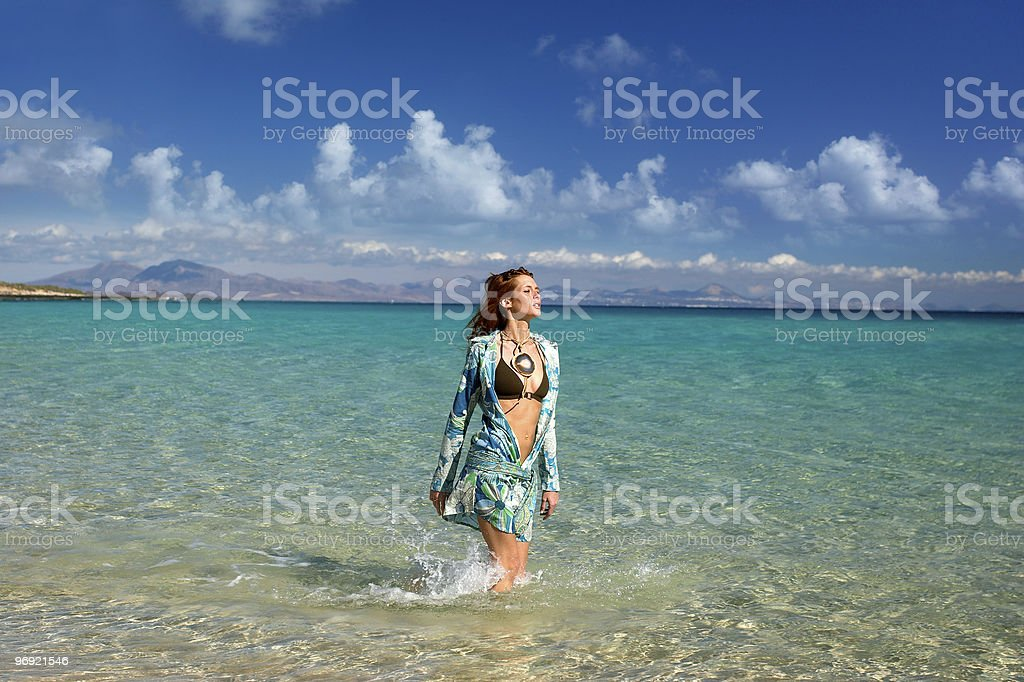 Vacations to the Sun royalty-free stock photo