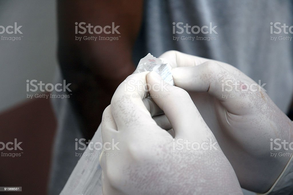 Vaccination & Needle royalty-free stock photo