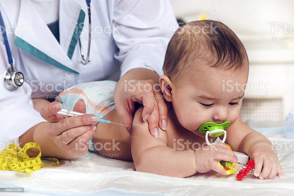 A vacinação - foto de acervo