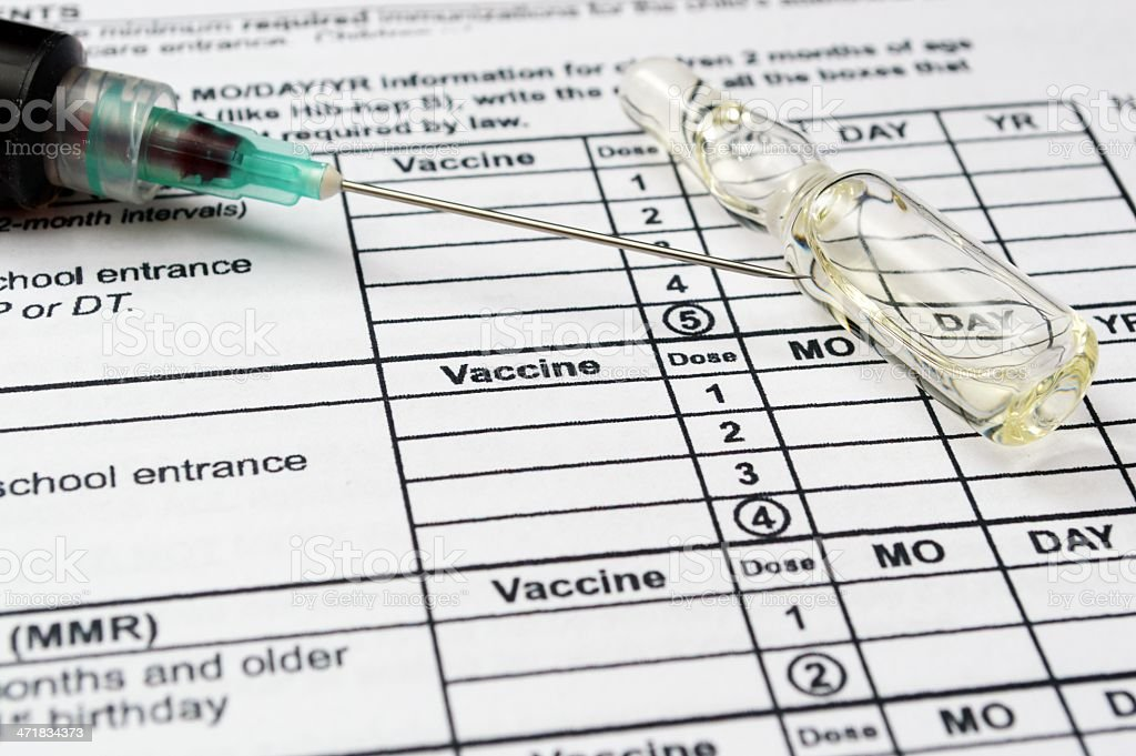 Vaccine concept royalty-free stock photo