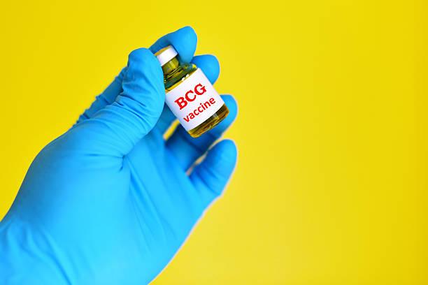 BCG vaccine stock photo