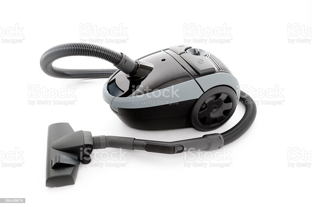 Vacuum cleaner, isolated on white stock photo