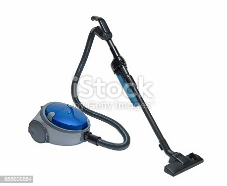 istock vacuum cleaner on a white background 858606884