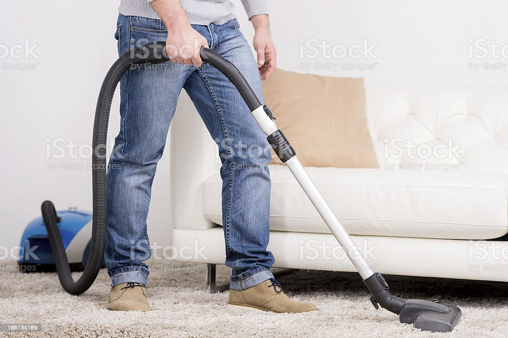 Vacuum Cleaner. - Royalty-free Activity Stock Photo