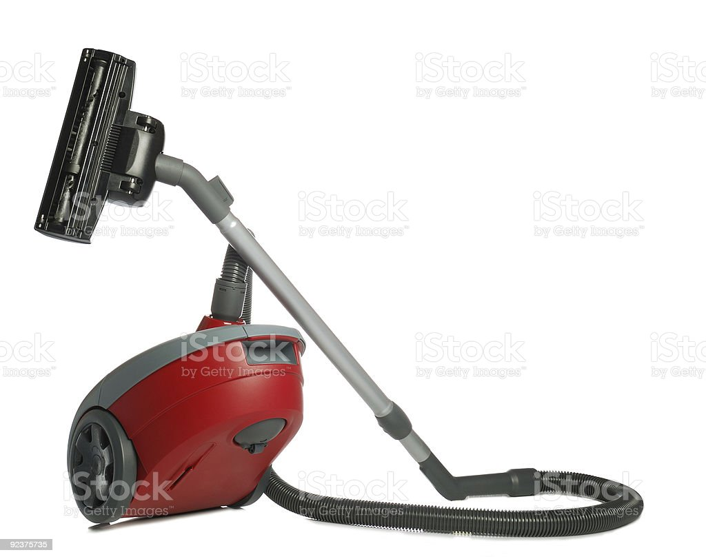 Vacuum cleaner reflection royalty-free stock photo