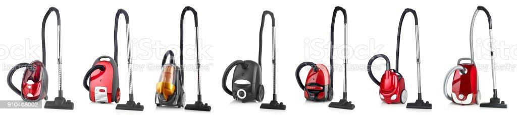 Vacuum cleaner variation stock photo