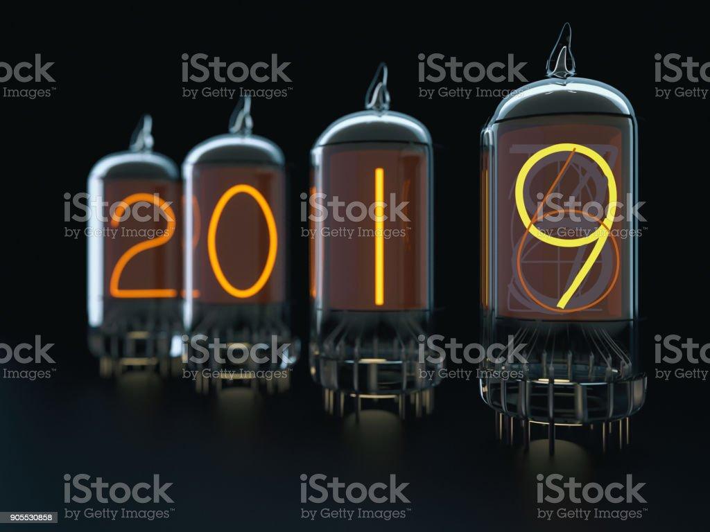 Vacuum tube 2018 stock photo