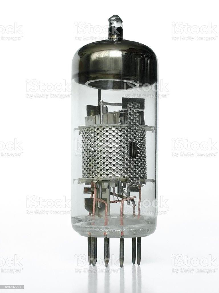 Vacuum tube royalty-free stock photo