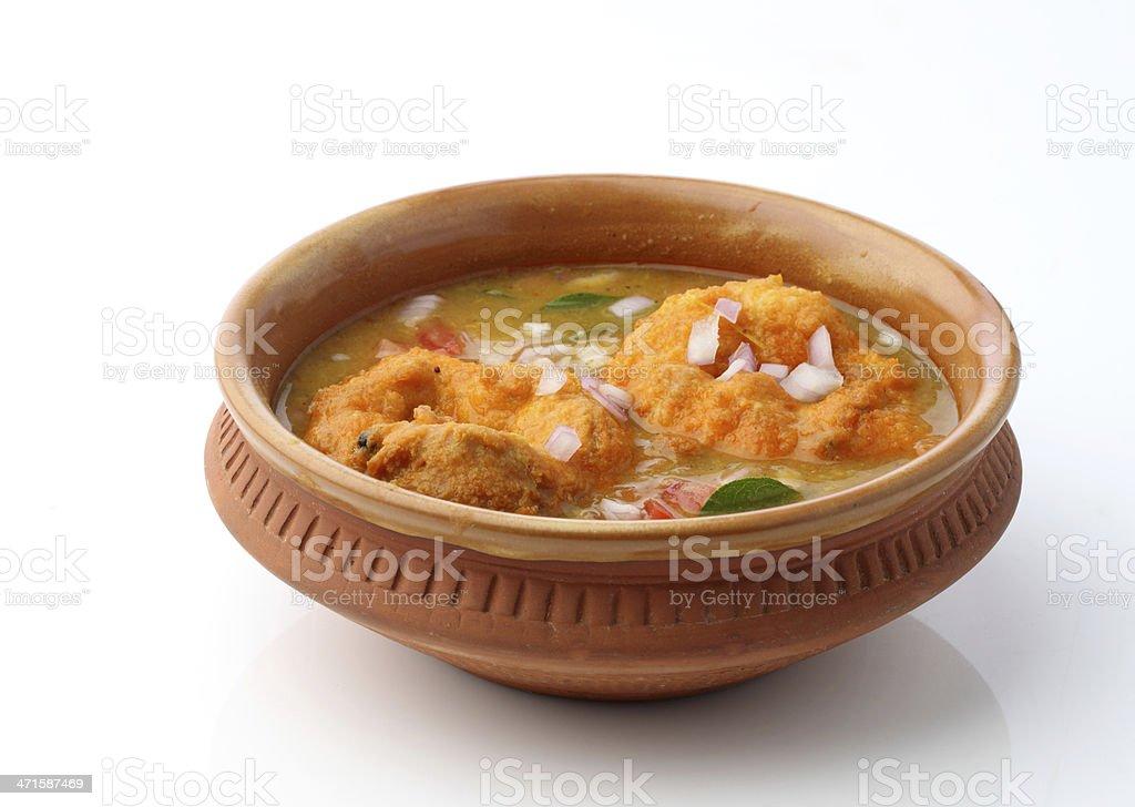 vada sambhar stock photo