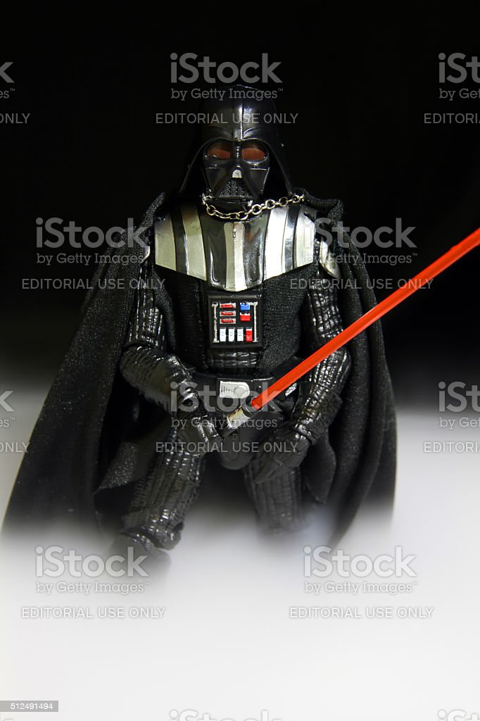 Vader in the Mist stock photo
