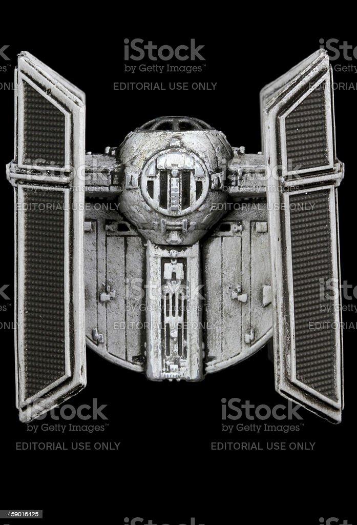 Vader's Ship royalty-free stock photo