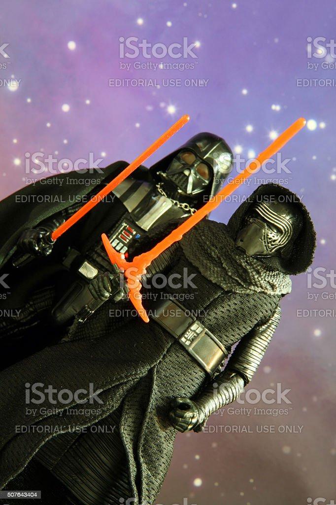 Vader's True Heir stock photo