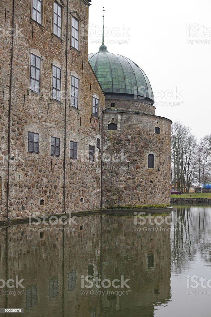 Vadstena palace royalty-free stock photo