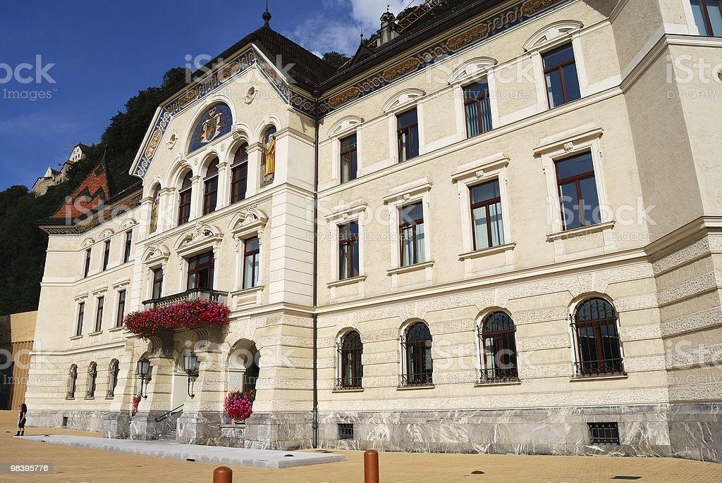 Vaduz town hall, Liechtenstein royalty-free stock photo