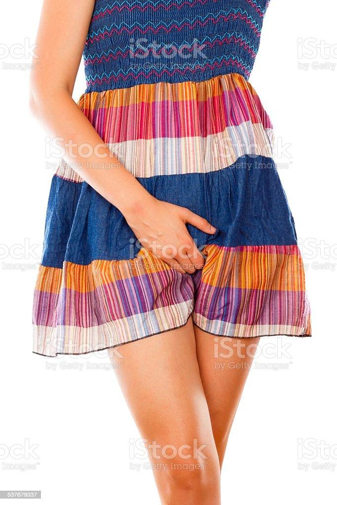 Vaginal Mycosis stock photo