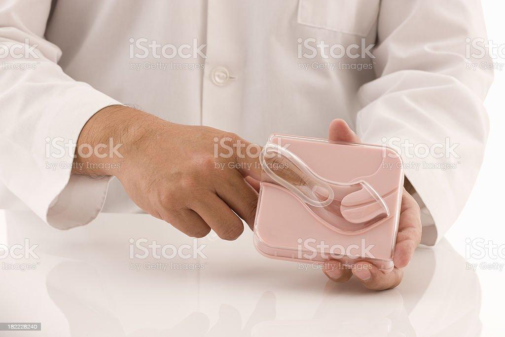 Vaginal Ring stock photo