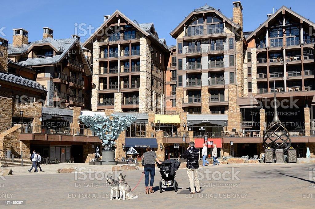Vail, Colorado royalty-free stock photo