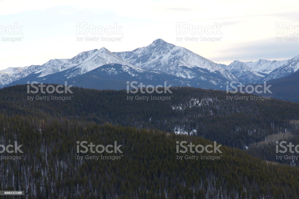 Vail Mountain stock photo